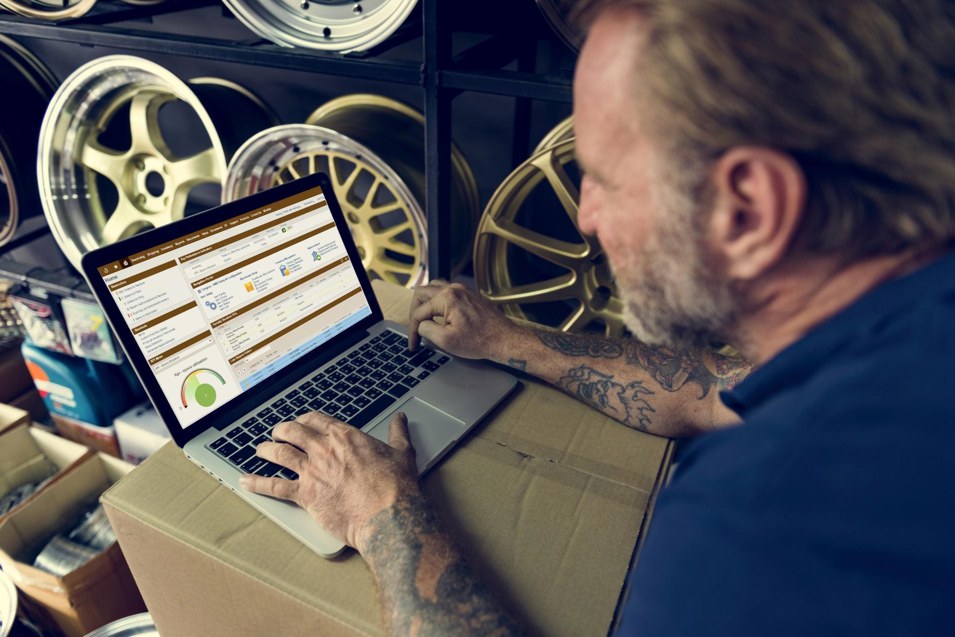 auto parts erp , NetSuite