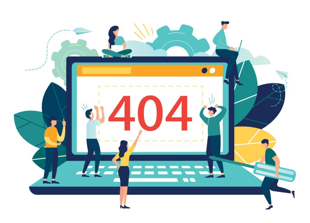 404 Laptop Error Outdated System